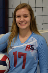 A5 South Volleyball Club 2018:  #17 Hallie Sims