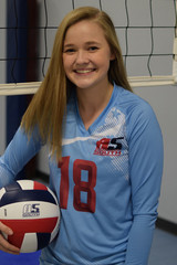 A5 South Volleyball Club 2018:  #18 Grace Snider