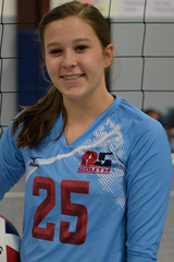 A5 South Volleyball Club 2018:  #25 Emily Jimerson