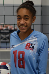 A5 South Volleyball Club 2018:  #18 Sierra Moses
