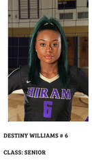 A5 South Volleyball Club 2018:  #28 Destiny Williams
