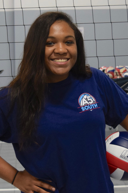 A5 South Volleyball Club 2018:  Destinee Langston (Des)