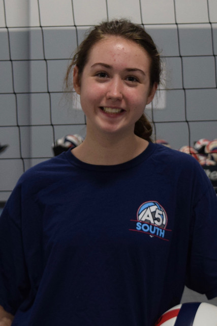 A5 South Volleyball Club 2018:  Elizabeth Rice (Ellie)