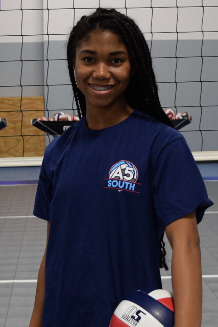 A5 South Volleyball Club 2018:  Chloe Davis
