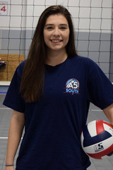 A5 South Volleyball Club 2018:  #2 Emily Moore