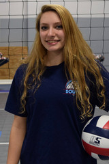 A5 South Volleyball Club 2018:  #27 Heidi Shrontz