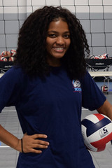 A5 South Volleyball Club 2018:  #3 Nahla Muhammad