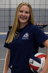 A5 South Volleyball Club 2018:  #41 Lilli Ryan (Lilli)