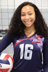 A5 South Volleyball Club 2020:  #16 Nyah Pacely