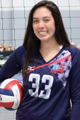 A5 South Volleyball Club 2020:  #33 Ava Pitchford (Ava)