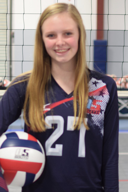 A5 South 14-3 Amber 2019: #27   Abigail Vogel
