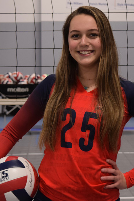 A5 South Volleyball Club 2020:  Audrey Cordier
