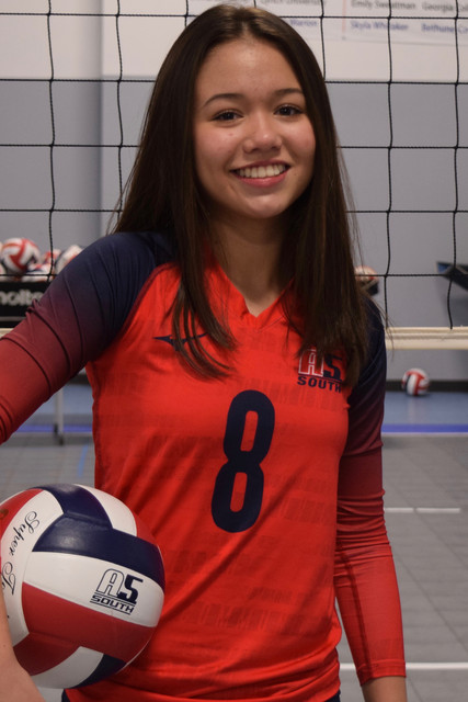 A5 South Volleyball Club 2020:  Kaitlyn Hood (Katie)