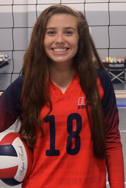A5 South Volleyball Club 2020:  Charlsey Willoughby
