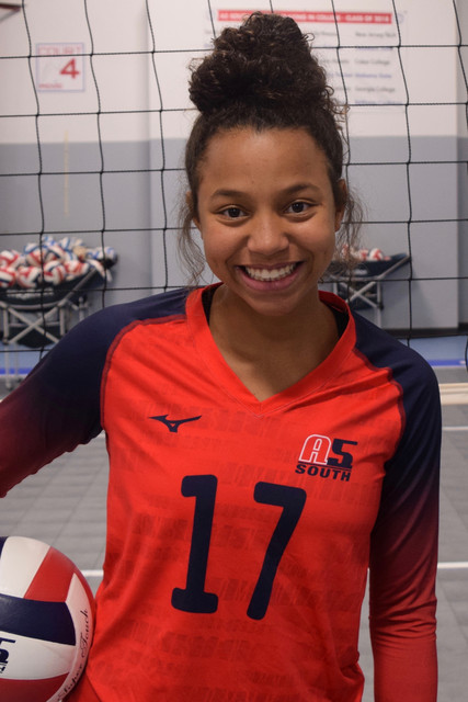 A5 South Volleyball Club 2020:  Makala Thompson