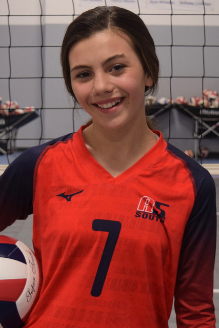 A5 South Volleyball Club 2020:  Kennedy Mandrik (KAM)